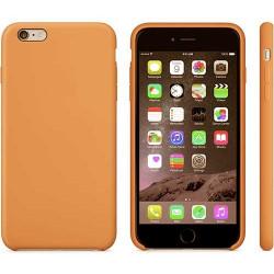 Coque silicone orange pour iPhone 6 + ( 5.5 )