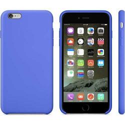 Coque silicone bleue pour iPhone 6 + ( 5.5 )