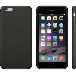 Coque silicone noire pour iPhone 6 + ( 5.5 )