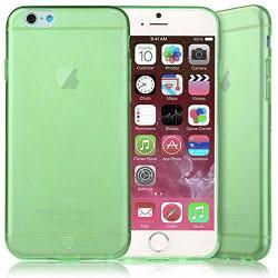 Coque CRYSTAL semi rigide verte pour iPhone 6 plus ( 5.5 )