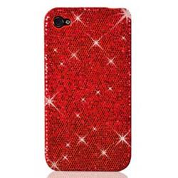 Coque disco rouge pour iphone 4 et 4S