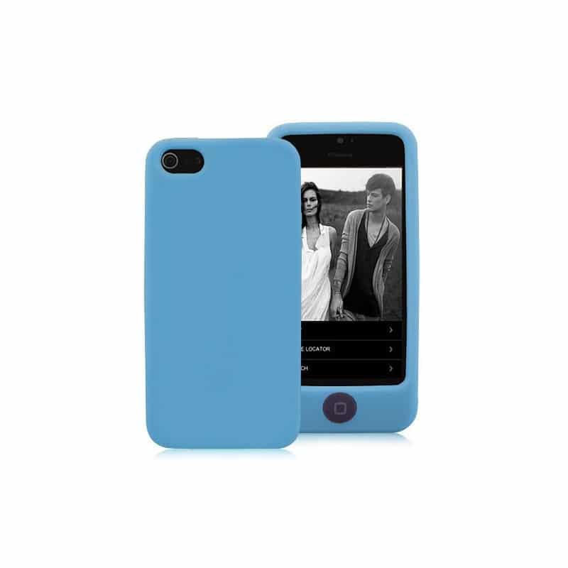 coque integrale bleue pour iphone 5 5s et se. Black Bedroom Furniture Sets. Home Design Ideas