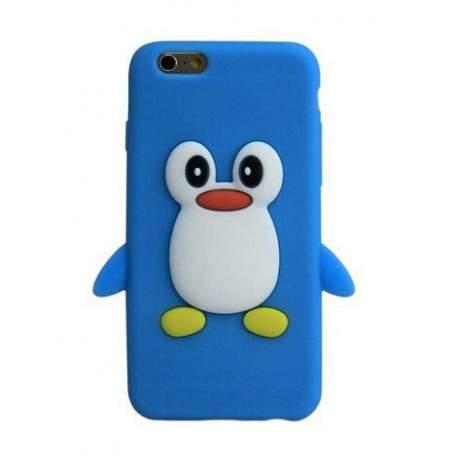 coque pingouin bleue pour iphone 6 et iphone 6s