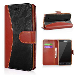 Etui cuir portefeuille LUXURY pour SAMSUNG GALAXY NOTE 4 6cb5be0e788