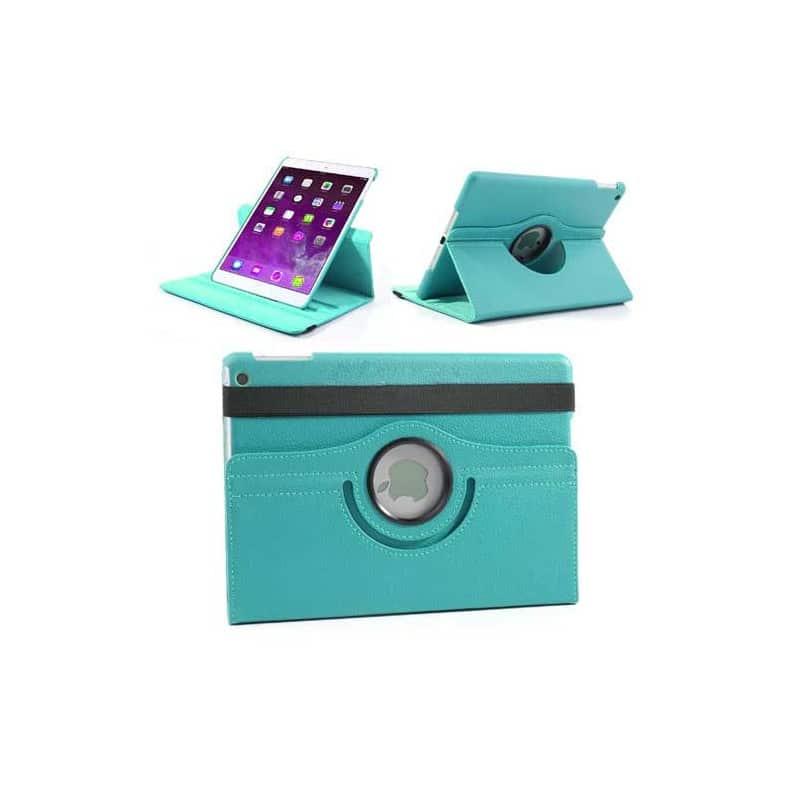 etui rabattable 360 bleu pour ipad air 2. Black Bedroom Furniture Sets. Home Design Ideas