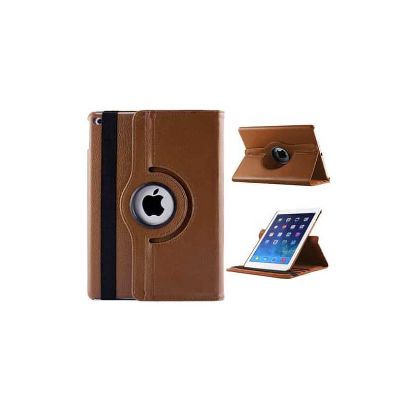etui rabattable 360 marron pour ipad air 2. Black Bedroom Furniture Sets. Home Design Ideas