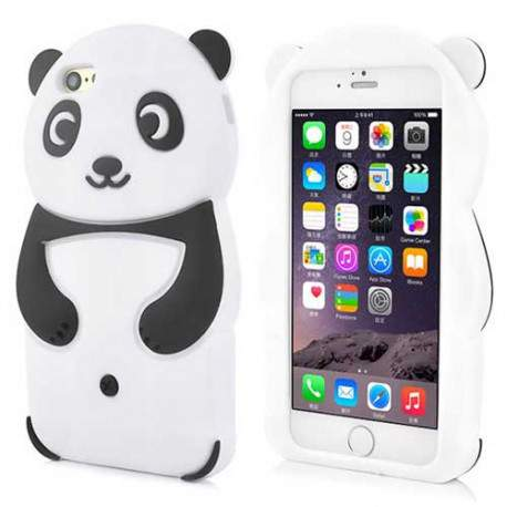 Coque souple CUTE PANDA 3D pour iPhone 6 ( 4.7 )
