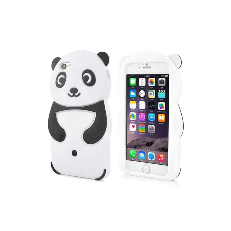 Coque souple cute panda 3d pour iphone 6 4 7 for Cuisine 3d pour iphone