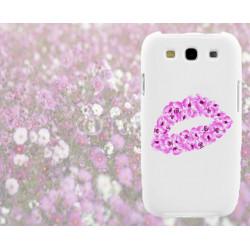 Coque Lèvres Fleurs pour Samsung Galaxy Star 2