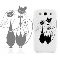 Coque Pair of Cats pour Samsung Galaxy Star 2