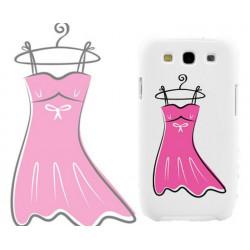 Coque La Petite Robe Rose pour Samsung Galaxy Star 2