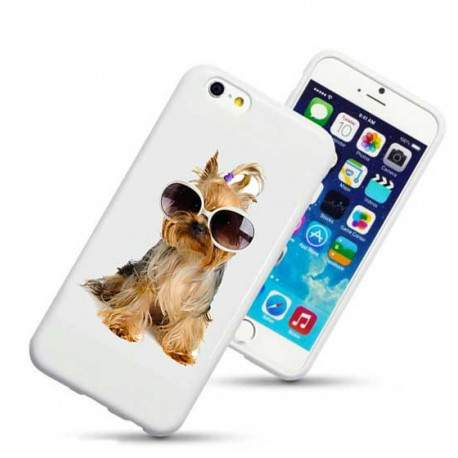 Coque rigide FUNNY DOG pour iPhone 6 + (5.5)