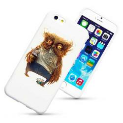 Coque rigide HIBOU DESTROY pour iPhone 6 + (5.5)
