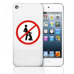 Coque rigide WARNING pour iPhone 6 + (5.5)