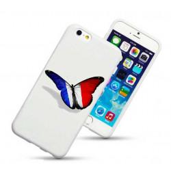 Coque rigide PAPILLON FRANCE pour iPhone 6 + (5.5)