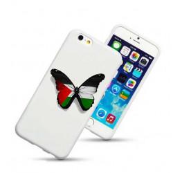 Coque rigide PAPILLON PALESTINE pour iPhone 6 + (5.5)