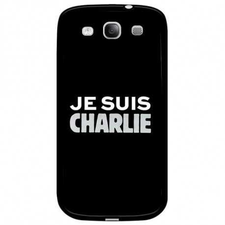 coque je suis charlie pour samsung galaxy ace 4. Black Bedroom Furniture Sets. Home Design Ideas