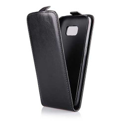 Etui cuir noir pour SAMSUNG GALAXY S6