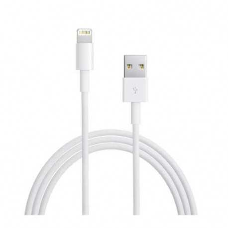 Cable Lightning original et certifie APPLE pour iPhone 5, iPhone 6, iPod touch 5, iPad mini et iPad Air