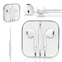 Ecouteurs originaux et certifies APPLE avec télécommande et micro pour iPhone, iPod, et iPad
