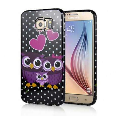 coque galaxy s6 hibou