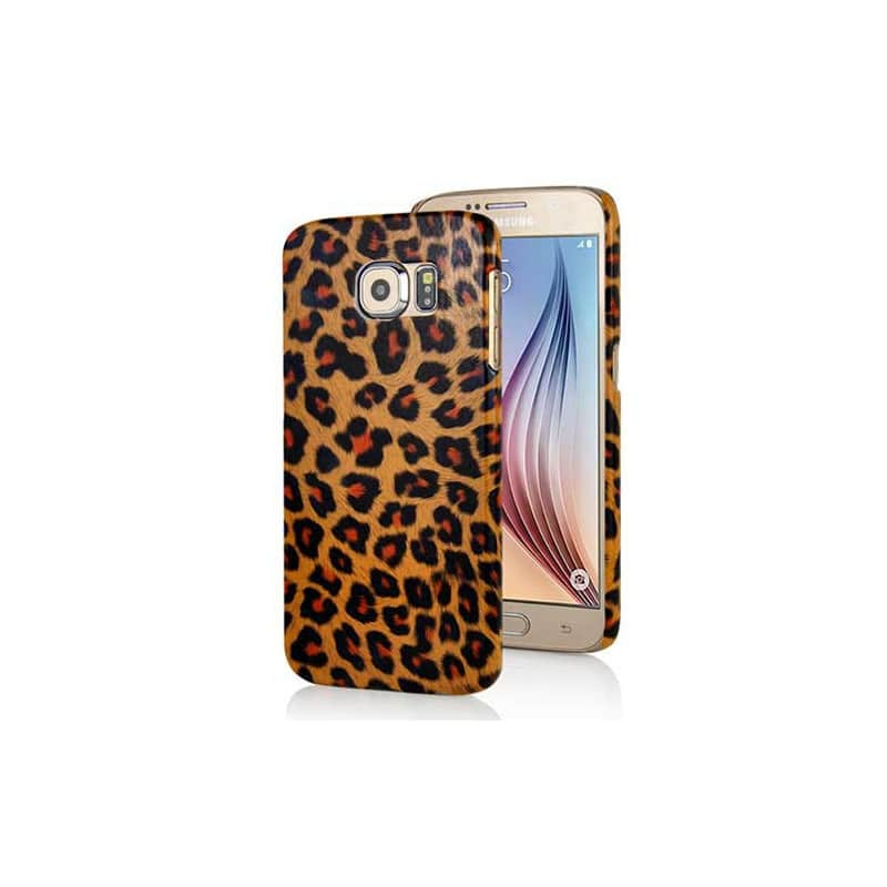 Coque rigide LEOPARD pour Samsung Galaxy S6