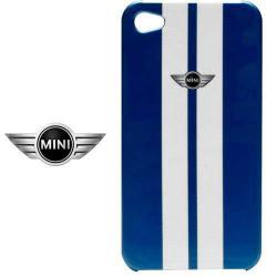 Coque originale blanche et bleue MINI pour iPhone 6