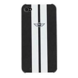 Coque originale blanche et noire MINI pour iPhone 6