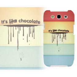 Coque Rigide CHOCOLATE pour Samsung Galaxy GRAND PRIME