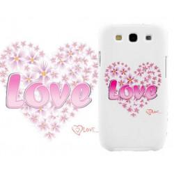 Coque Rigide LOVE 03 pour Samsung Galaxy GRAND PRIME