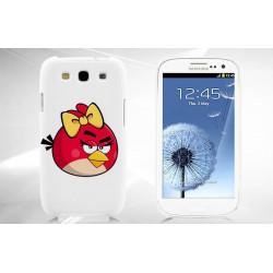 Coque Rigide ANGRY BIRD ROUGE pour Samsung Galaxy GRAND PRIME