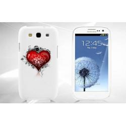 Coque Rigide COEUR pour Samsung Galaxy GRAND PRIME