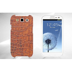 Coque Rigide CROCO pour Samsung Galaxy GRAND PRIME
