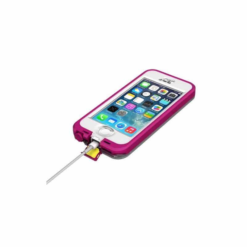 Coque originale lifeproof n d rose anti chocs waterproof et r sistante pour iphone 5 5s et se - Fabriquer une coque de telephone ...