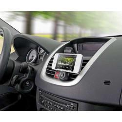 Support voiture GRILLE universel noir pour telephones et lecteurs multimedia