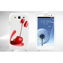 Coque Rigide CERISE pour Samsung Galaxy GRAND PRIME