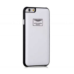 Coque cuir originale ASTON MARTIN pour iPhone 6+