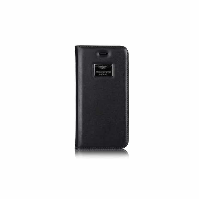 etui rabattable original portefeuille noir aston martin pour iphone 6. Black Bedroom Furniture Sets. Home Design Ideas