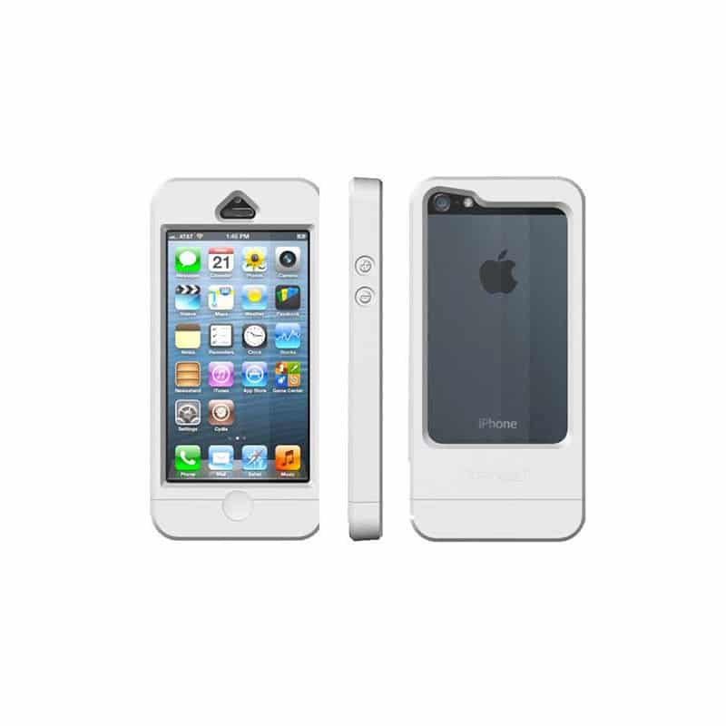 coque etanche originale dryway blanche pour iphone 5 5s se. Black Bedroom Furniture Sets. Home Design Ideas