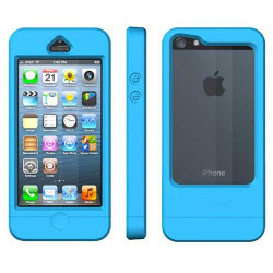 Coque ETANCHE originale DRYWAY bleue pour iPhone 5 5S SE