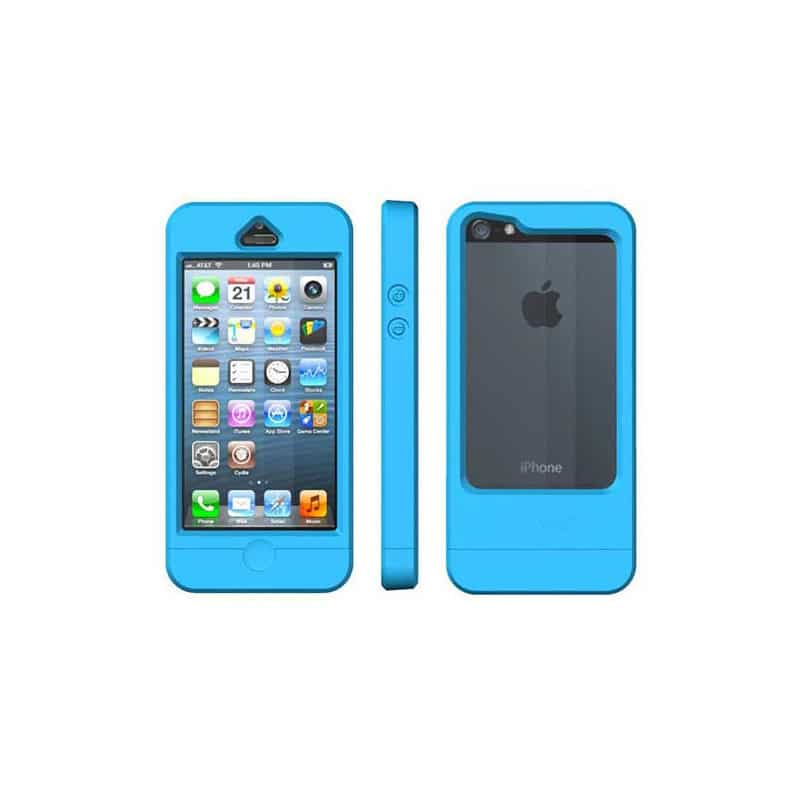 coque etanche originale dryway bleue pour iphone 5 5s se. Black Bedroom Furniture Sets. Home Design Ideas