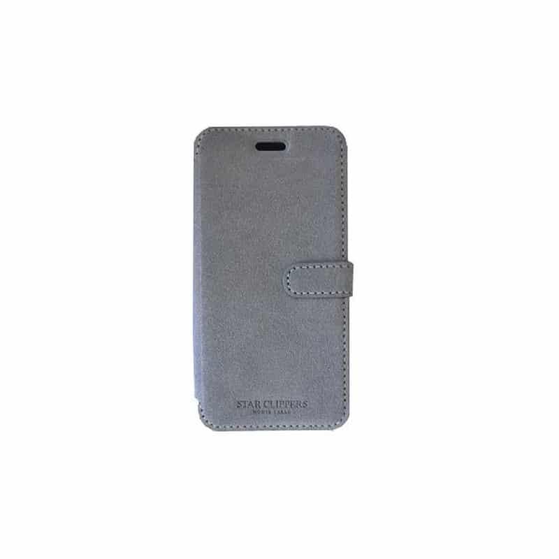 etui portefeuille original starclippers en rabattable gris pour iphone 6. Black Bedroom Furniture Sets. Home Design Ideas