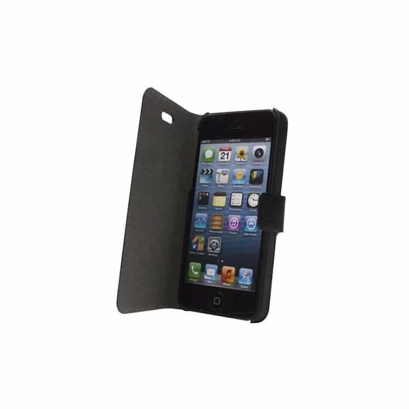 etui folio guess noir effet croco iphone 5c. Black Bedroom Furniture Sets. Home Design Ideas