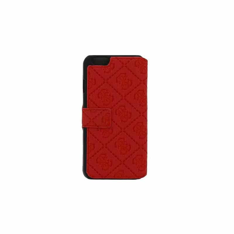 Housse etui folio guess rouge iphone 6 for Housse iphone 6 guess