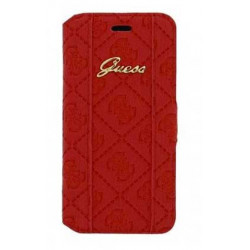 Housse Etui Folio rouge Galaxy Ace 4