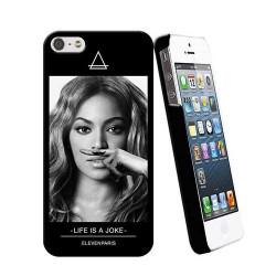 Eleven Paris coque Beyonce noir toucher gomme pour iPhone 5/5S
