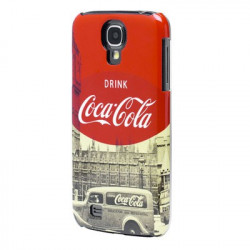 "Coque originale Coca Cola pour samsung galaxy S4 ""City Cab"""