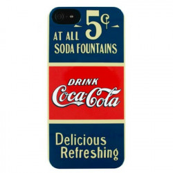 "Coque originale Coca Cola pour IPhone 5/ 5S ""Old 5 Cents"""