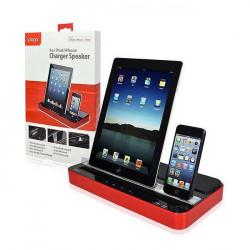 Double Dock pour téléphone et tablettes