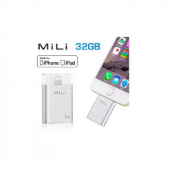Stockage externe portable Mili iData 32GB pour Apple iPhone et iPad HI-D91